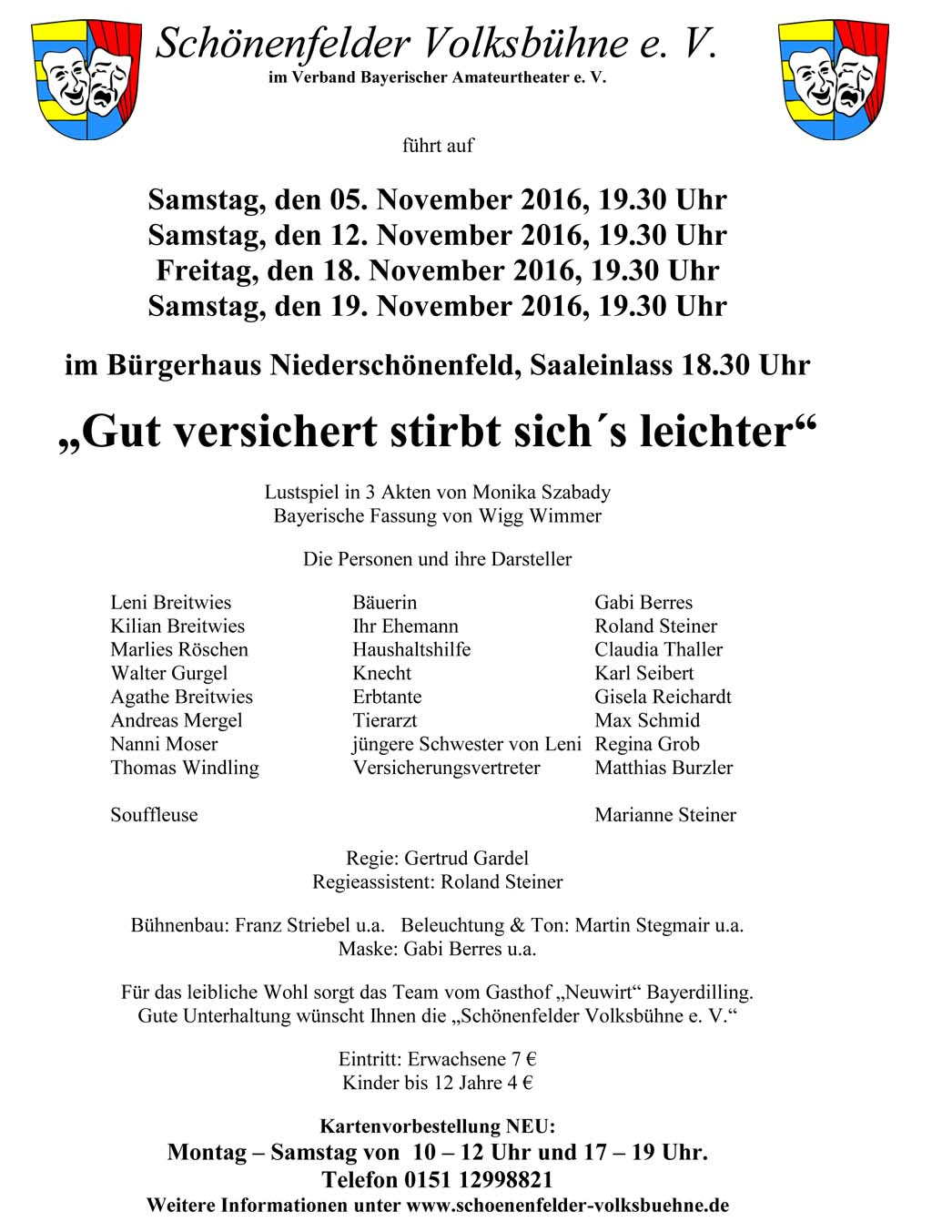 Schönenfelder Volksbühne e